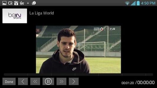 Capture d'écran de YipTV